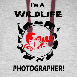 WILDLIFE PHOTOGRAPHER - Colorblock Hoodie