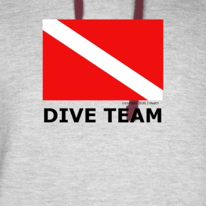 Dive Team - Colorblock Hoodie