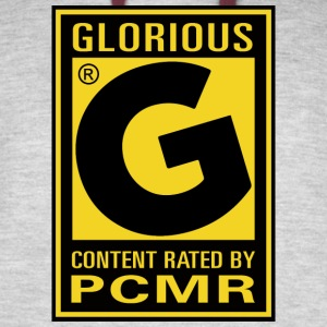 Content Rated Glorious by PC Master Race T Shirt - Colorblock Hoodie