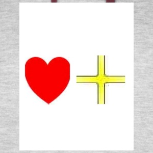 Heart Yellow Cross-Blue Denim and Lemonade Brand - Colorblock Hoodie