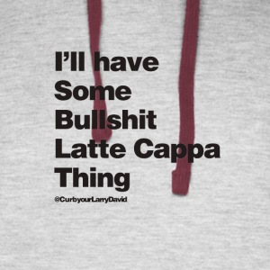 Latte Cappa Thing - Colorblock Hoodie