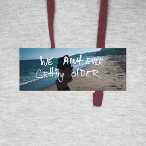 The Chainsmokers Closer Lyrics 5 - Colorblock Hoodie