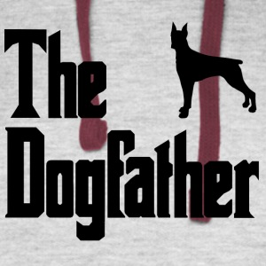The Dog Father Doberman - Colorblock Hoodie