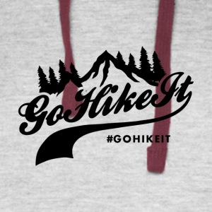 Go Hike It - Colorblock Hoodie