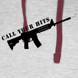 Call Your Hits - Colorblock Hoodie