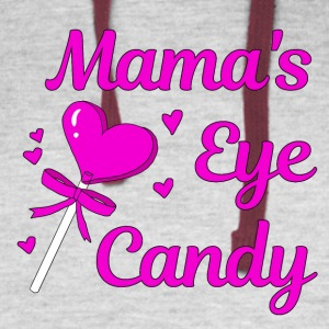 MAMA'S EYE CANDY - Colorblock Hoodie