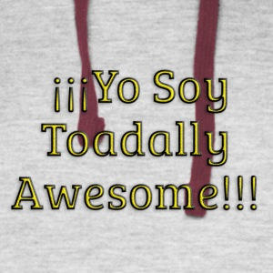 Yo Soy Toadally Awesome - Colorblock Hoodie