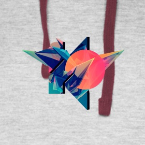 Abstract - Colorblock Hoodie
