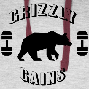 Grizzly Gains - Colorblock Hoodie