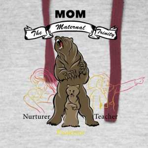 The Maternal Trinity - Colorblock Hoodie