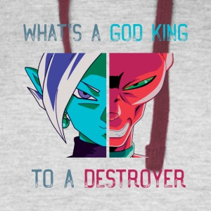 God of Destruction - Colorblock Hoodie