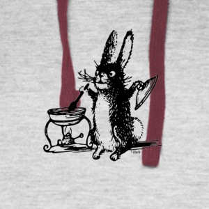 The Bunny Chef - Colorblock Hoodie