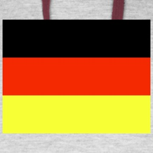 Germany Flag Wallpaper 6 - Colorblock Hoodie