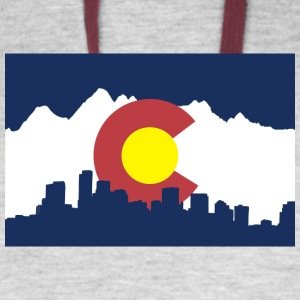 colorado_shirt - Colorblock Hoodie