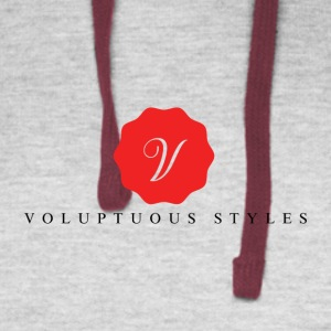 Voluptuous Tees - Colorblock Hoodie