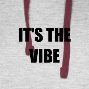 IT'S THE VIBE - Colorblock Hoodie
