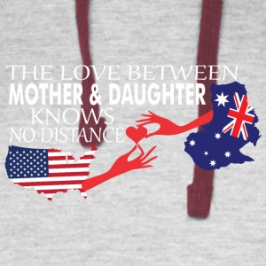 Mother & Daughter Knows No Distance US & Australia - Colorblock Hoodie