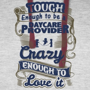 Tough Enough To Be A Daycare Provider T Shirt - Colorblock Hoodie
