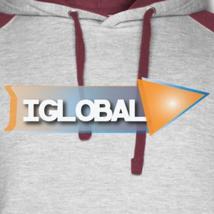 iGlobal Theme T Shirt - Colorblock Hoodie