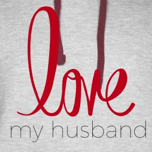 love my husband - Colorblock Hoodie