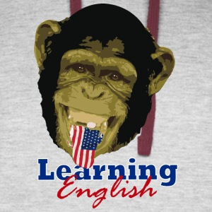 Learning English Chimpa - Colorblock Hoodie