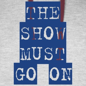 The Show Must Go On - Colorblock Hoodie