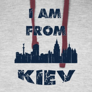 KIEV I am from - Colorblock Hoodie