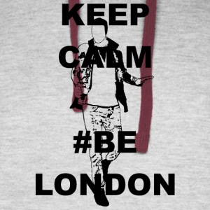 Keep Calm Be London - Colorblock Hoodie