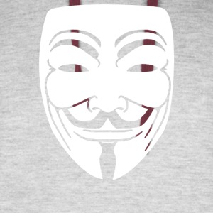 Anonymous Mask - Colorblock Hoodie