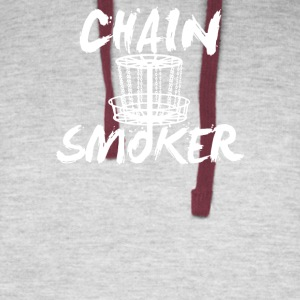 Chain Smoker Disc - Colorblock Hoodie