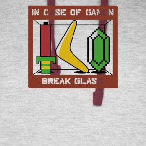 In Case of Ganon Break Glass - Colorblock Hoodie