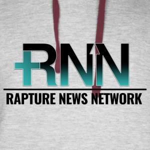 Rapture News Network Logo - Colorblock Hoodie