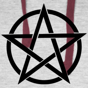 Witches Brew Ejuice Pentagram - Colorblock Hoodie