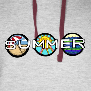 Welcome Summer! - Colorblock Hoodie