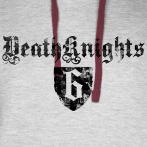 Deathknight6Shieldshirt - Colorblock Hoodie