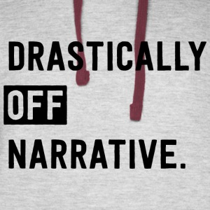 Drastically Off Narrative T Shirt - Colorblock Hoodie