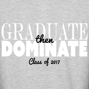 graduate then dominate - Colorblock Hoodie