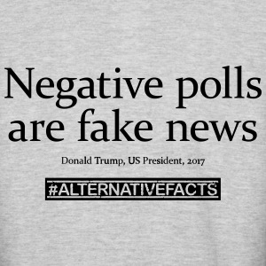#alternativefacts tee - negative polls - Colorblock Hoodie