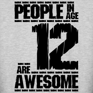 PEOPLE IN AGE 12 ARE AWESOME - Colorblock Hoodie