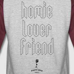 HOMIE LOVER FRIEND - Colorblock Hoodie