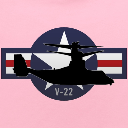 V-22 Osprey Military Airplane - Baby Bib