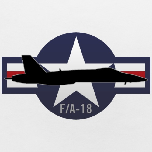 F/A-18 Hornet Military Fighter Jet Aircraft - Baby Bib