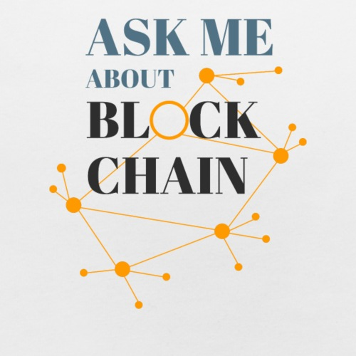 Ask Me About Blockchain - Baby Bib