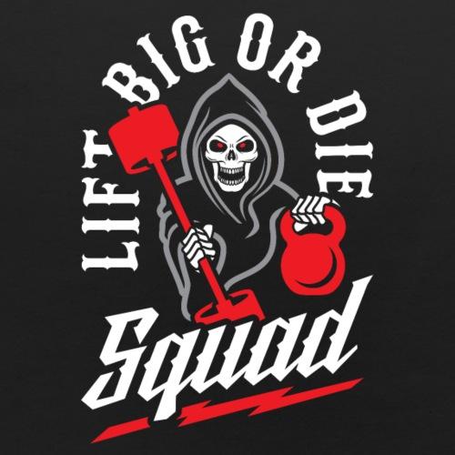 Lift Big Or Die Squad - Baby Bib