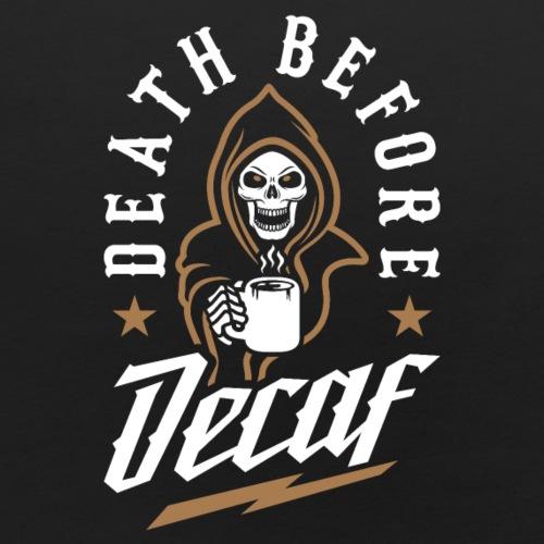 Death Before Decaf - Baby Bib