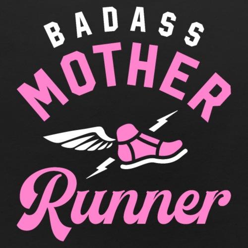 Badass Mother Runner - Baby Bib