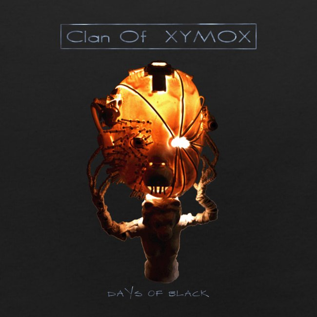 Days of Black Clan Of Xymox Album Shirt