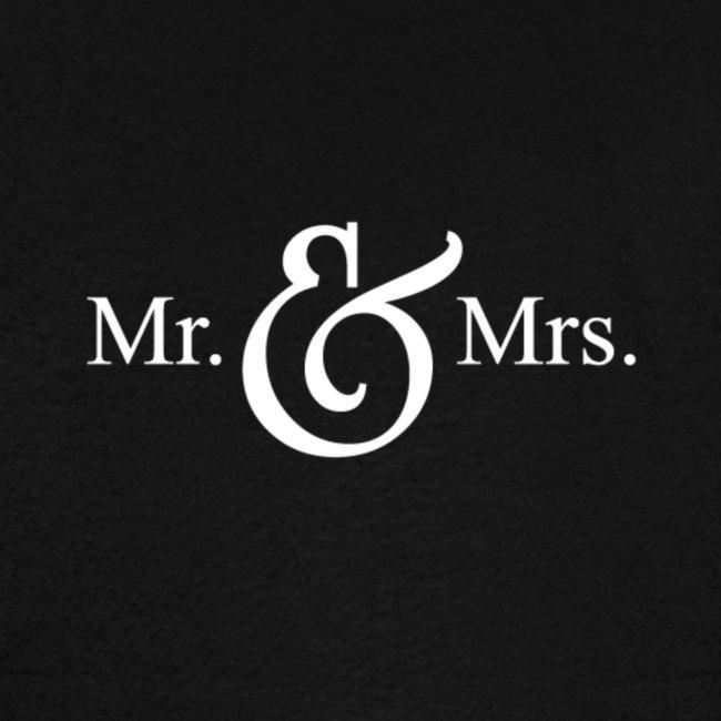 MR.& MRS . TEE SHIRT