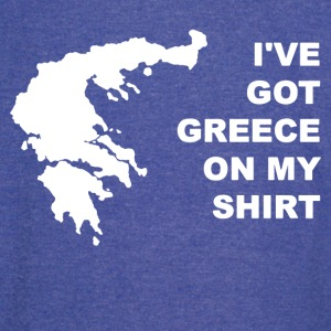 I ve Got Greece On My Shirt - Vintage Sport T-Shirt