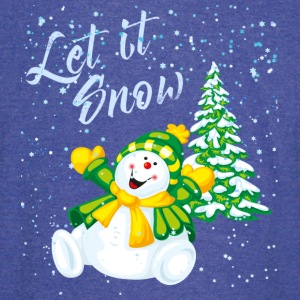 Let it snow - Vintage Sport T-Shirt